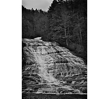 Water Fall Ithaca New York Photographic Print