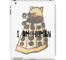 I Am Human iPad Case/Skin