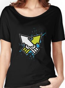 Splatoon - Turf War (Blue Splat) Women's Relaxed Fit T-Shirt