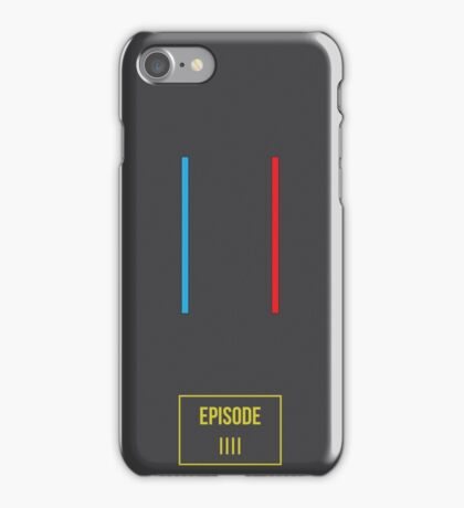 Star Wars Red and Blue iPhone Case/Skin