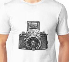 Giant East German Camera - Black Unisex T-Shirt