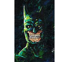 Dead Dark Knight Photographic Print
