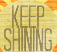 Baby Keep Shining Sticker