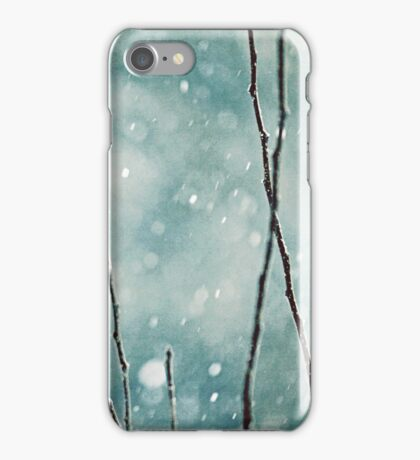 The sound of winter iPhone Case/Skin