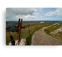 The Path to Neist Point  Canvas Print
