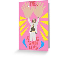 The flaming lips - big hands Greeting Card