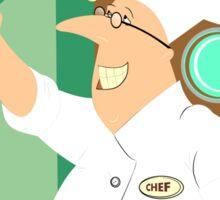 Self Chef smartphone funny Sticker