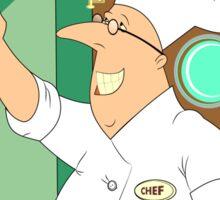 Self Chef funny Sticker
