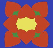 Hearts mandala  by Serenethos