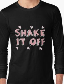 Shake it off (black) Long Sleeve T-Shirt