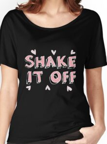 Shake it off (black) Women's Relaxed Fit T-Shirt