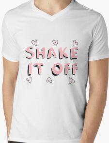 Shake it off (black) Mens V-Neck T-Shirt