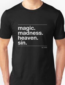 magic. madness Unisex T-Shirt