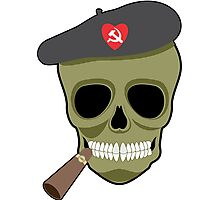 I love communism hammer and sickle funny Photographic Print
