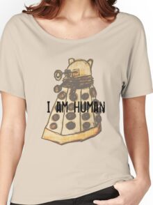 I Am Human Women's Relaxed Fit T-Shirt