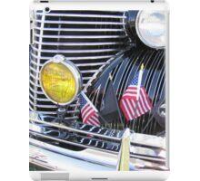Patriotic 1940 Cadillac American Flag - Brightwork  iPad Case/Skin