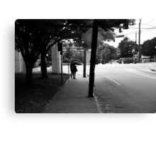 Bus Stop II Canvas Print
