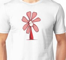 Red Color Chakra Flowerkid Unisex T-Shirt