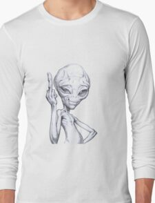 Paul - the alien Long Sleeve T-Shirt