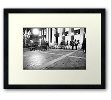 Shiny Happy People Framed Print