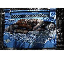 Sleeping Girl Photographic Print