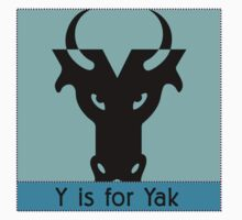 Yak Animal Alphabet by Zehda