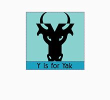 Yak Animal Alphabet Unisex T-Shirt