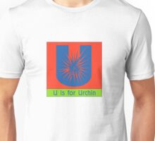 Urchin Animal Alphabet Unisex T-Shirt