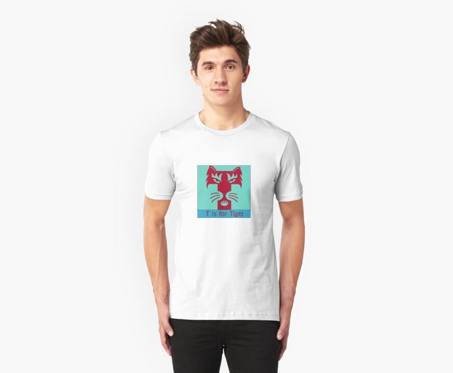 Tiger Animal Alphabet by Zehda