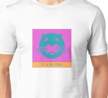 Otter Animal Alphabet Unisex T-Shirt
