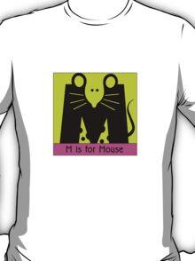 Mouse Animal Alphabet T-Shirt