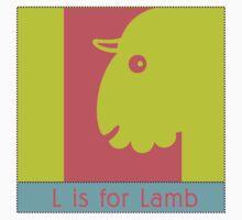 Lamb Animal Alphabet by Zehda