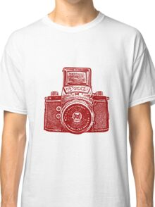 Giant East German Camera - Ruby Red Classic T-Shirt