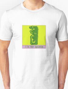 Iguana Animal Alphabet T-Shirt