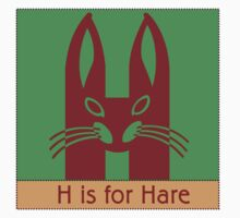 Hare Animal Alphabet by Zehda