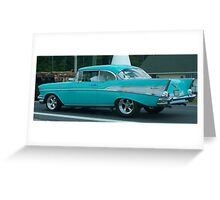 Chevy Belair Greeting Card