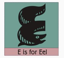 Eel Animal Alphabet by Zehda