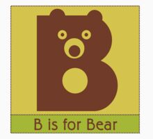Bear Animal Alphabet by Zehda