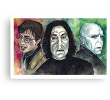 The Deathly Hallows Canvas Print