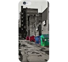 A back alley iPhone Case/Skin