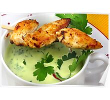 Parsley Soup And Chicken Poster