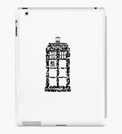 Abstract Dr. Who TARDIS iPad Case/Skin