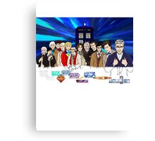 13 Doctors Canvas Print