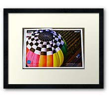 Prize Winning Photograph 26th May 2010 Framed Print