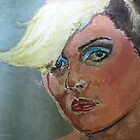 Debbie Harry expressionist Painting  by adrienne75