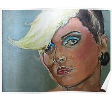 Debbie Harry expressionist Painting  Poster
