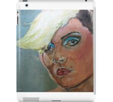 Debbie Harry expressionist Painting  iPad Case/Skin