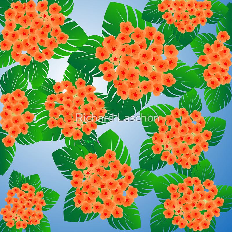 Floral decoration by Richard Laschon
