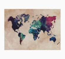 World Map cold World Kids Clothes