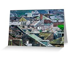 French Quarter Rooftops Greeting Card